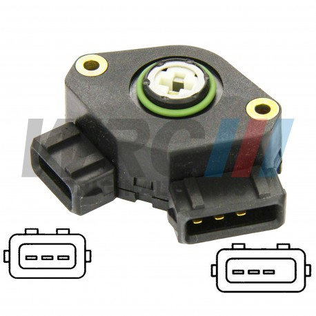 Throttle potentiometer WRC 037907385M