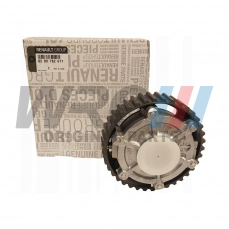 Camshaft dephaser pulley Renault 7700108671