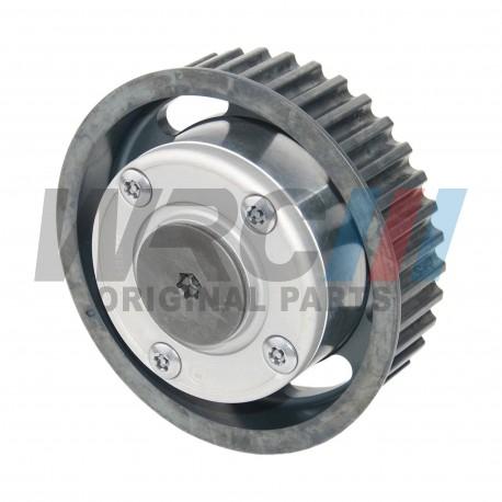Camshaft dephaser pulley Renault 7701478505