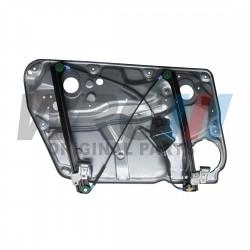 Podnośnik szyby prawy przód elektryczny 4 drzwi WRC 3B1837462 z blachą